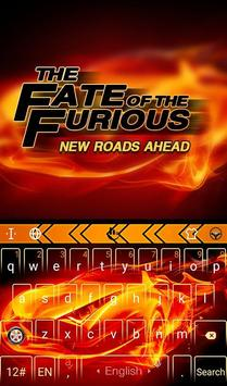 Fate of Furious Keyboard Theme poster