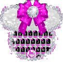 Twinkle Minny Bowknot Keyboard Theme APK