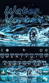 Water Vortex poster