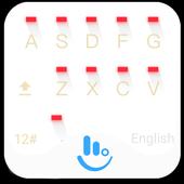 White Christmas Keyboard Theme icon