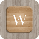 Pure Brown Wood Keyboard Theme icon