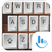 Wood Physical Keyboard Theme icon