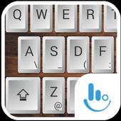 Wood Physical Keyboard Theme icon
