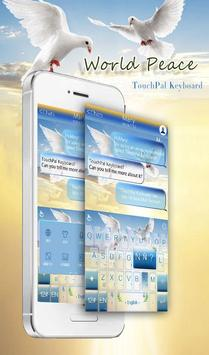 TouchPal World Peace Theme poster