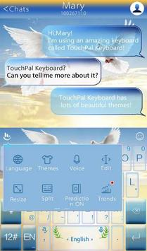TouchPal World Peace Theme apk screenshot