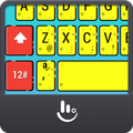 Yellow Cute Sponge Keyboard Theme