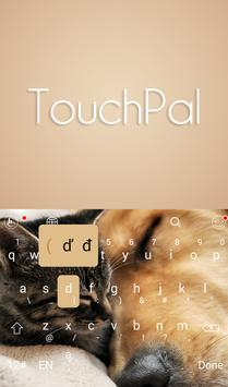 TouchPal You & Me Keyboard screenshot 1