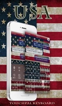 TouchPal America KeyboardTheme poster