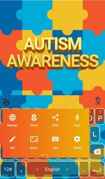 Autism Awareness Keyboard apk screenshot