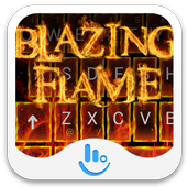 Blazing Flame Keyboard Theme icon