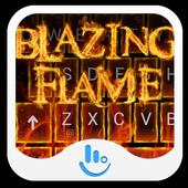 Blazing Flame Keyboard Theme icon