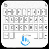 TouchPal Black White Keyboard icon