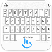 TouchPal Black White Keyboard icon