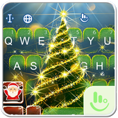 Live 3D Christmas Tree Keyboard Theme icon