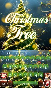 Live 3D Christmas Tree Keyboard Theme poster