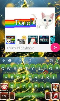 Live 3D Christmas Tree Keyboard Theme screenshot 4