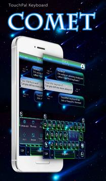 TouchPal Comet Keyboard Theme poster