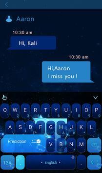 Constellation Gemini Keyboard apk screenshot