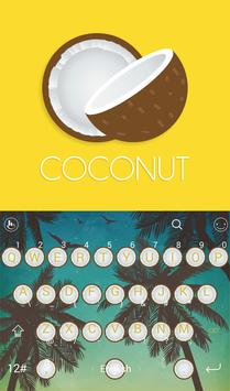 TouchPal Coconut Keyboard poster
