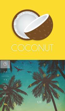 TouchPal Coconut Keyboard apk screenshot