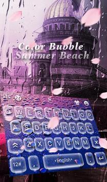 Color Bubble Summer Beach poster