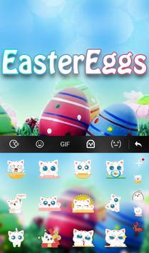 Easter Eggs Keyboard Theme apk screenshot
