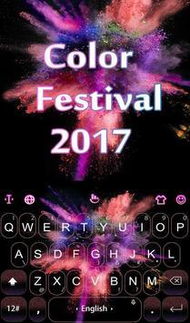 Color Festival 2017 poster