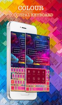 TouchPal Colour Keyboard Theme poster