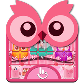 Colourful Owl Keyboard Theme icon