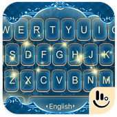 Classical Luxury Blue Keyboard Theme icon