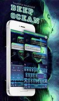 Deep Ocean Keyboard Theme poster