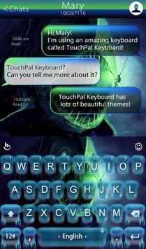Deep Ocean Keyboard Theme apk screenshot