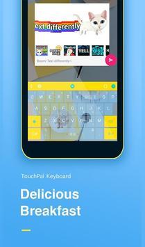Delicious Breakfast Keyboard poster