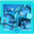 Dragon Ice Keyboard Theme