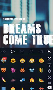 Dream Come True Keyboard Theme screenshot 2