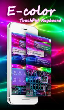 E Color Keyboard Theme poster