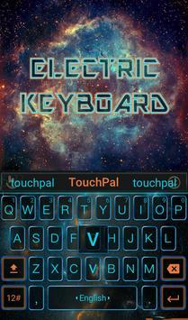 Free Electric Keyboard Theme apk screenshot