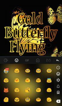 Gold Butterfly Flying screenshot 2