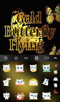 Gold Butterfly Flying screenshot 3