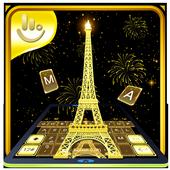 Gold Paris icon