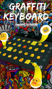 Graffiti Keyboard Theme apk screenshot