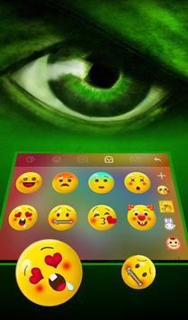 Fantasy Green Hero Theme - Cool Keyboard Theme screenshot 3