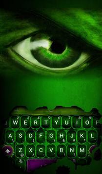 Fantasy Green Hero Theme - Cool Keyboard Theme poster