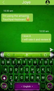 Fantasy Green Hero Theme - Cool Keyboard Theme screenshot 1