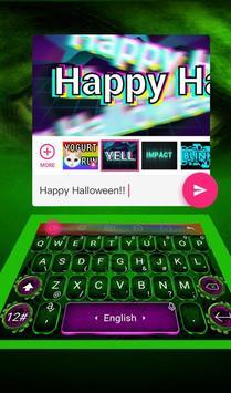 Fantasy Green Hero Theme - Cool Keyboard Theme screenshot 4