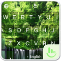 Peaceful Forest Keyboard Theme