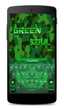 Green Soul Keyboard Theme poster