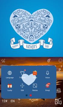 Happy Father's Day Keyboard apk screenshot