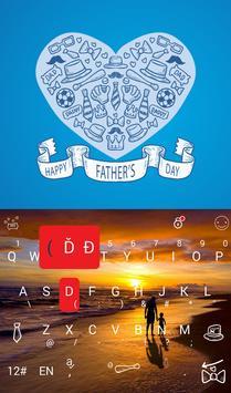 Happy Father's Day Keyboard apk screenshot