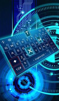 Hologram Keyboard Theme poster